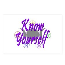 Know Yourself Postcards (Package of 8)
