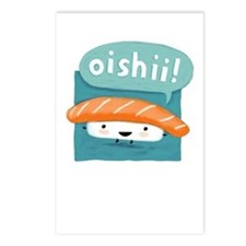 Oishii Sushi Postcards (Package of 8)