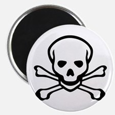 Skull and Crossbones Magnet