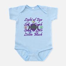 Light of Eye & Soft of Touch Infant Bodysuit