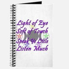 Light of Eye & Soft of Touch Journal