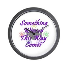 Something Wiccan Wall Clock