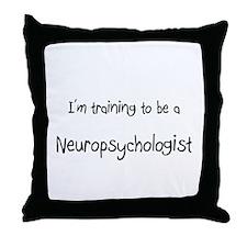 I'm training to be a Neuropsychologist Throw Pillo