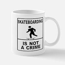 Unique Rollerblading Mug