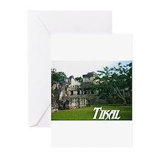 Tikal Courtyard Greeting Cards (Pk of 10)