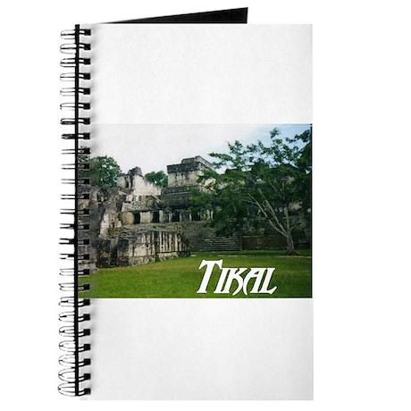 Tikal Courtyard Journal