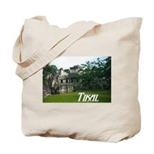 Tikal Courtyard Tote Bag