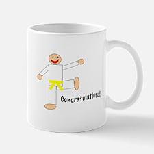 Martial Arts Congratulations Yellow Belt Mug