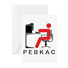 PEBKAC Greeting Cards (Pk of 20)