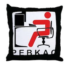 PEBKAC Throw Pillow