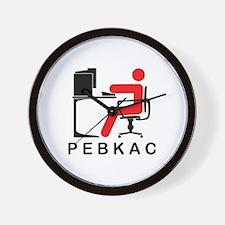 PEBKAC Wall Clock