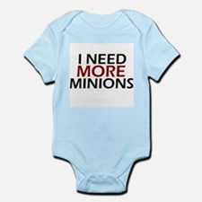 Need More Minions Infant Bodysuit