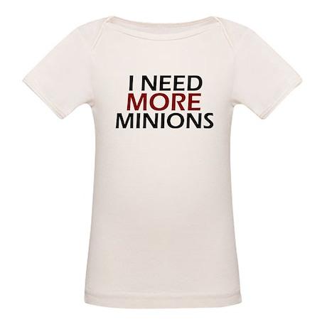 Need More Minions Organic Baby T-Shirt