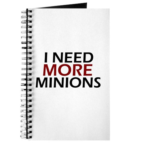 Need More Minions Journal