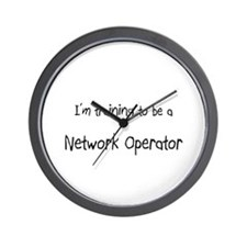 I'm training to be a Network Operator Wall Clock