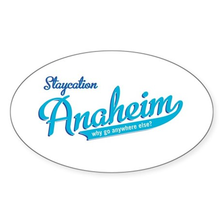 Anaheim Oval Sticker