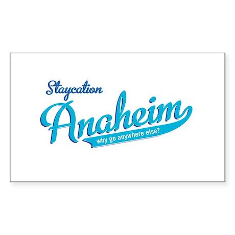 Anaheim Rectangle Sticker