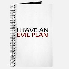 Evil Plan Journal