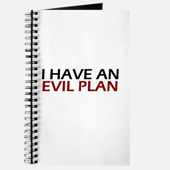 Evil Plan Journal