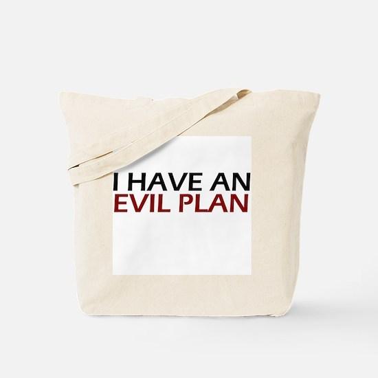 Evil Plan Tote Bag