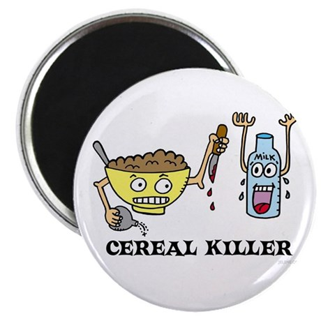 "Cereal Killer 2.25"" Magnet (10 pack)"