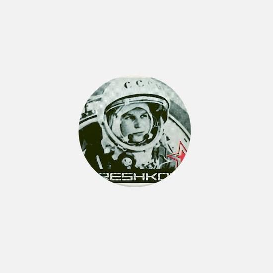 Tereshkova Mini Button
