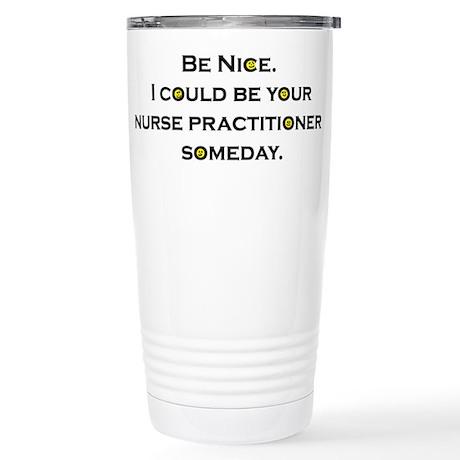 Be Nice...NP Stainless Steel Travel Mug
