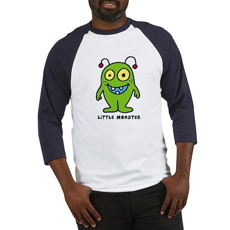 Little monster green Baseball Jersey