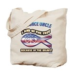 Airforce Uncle Tote Bag