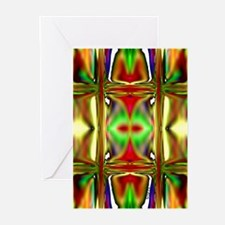 'Stained Glass Sunset' Greeting Cards (10 Pk)