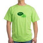 Fully Attached Pop Green T-Shirt