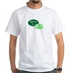 Fully Attached Pop White T-Shirt