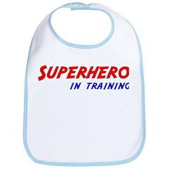 Superhero in Training Bib