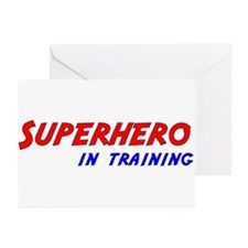 Superhero in Training Greeting Cards (Pk of 10)