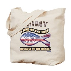 Army Family Tote Bag