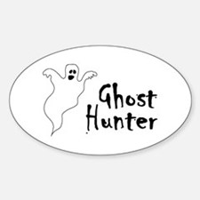 Ghost Hunter Oval Decal