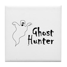 Ghost Hunter Tile Coaster