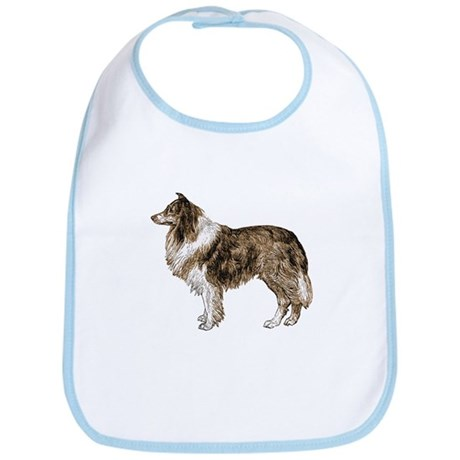 Vintage Collie Bib