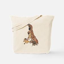 CBrdl w/ pups Tote Bag