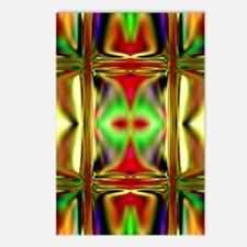 'Stained Glass Sunset' Postcards (8 Pack)