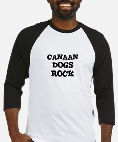 CANAAN DOGS ROCK Baseball Jersey