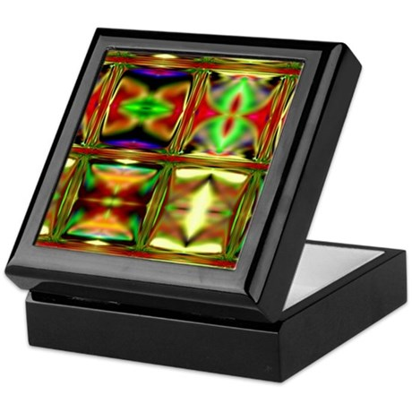 'Stained Glass' Tile / Trinket Box