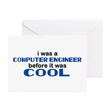 Computer Engineer Before Cool Greeting Cards (Pk o