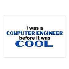 Computer Engineer Before Cool Postcards (Package o