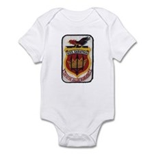 USS SARATOGA Infant Bodysuit
