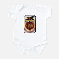 USS SARATOGA Infant Bodysuit