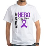 Pancreatic Cancer Sister White T-Shirt