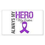 Pancreatic Cancer Sister Rectangle Sticker 50 pk)