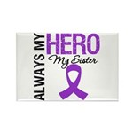 Pancreatic Cancer Sister Rectangle Magnet (10 pack