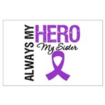 Pancreatic Cancer Sister Large Poster